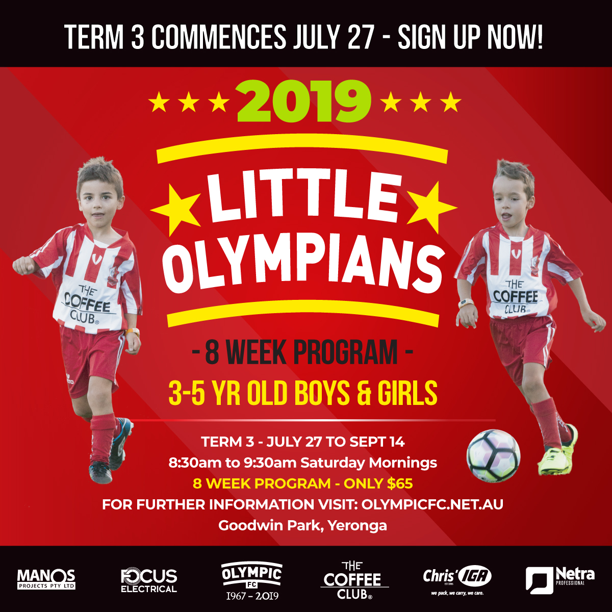 Little Olympians  – Term 3