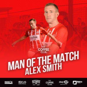 Man of the Match  – Round 22 – Alex Smith
