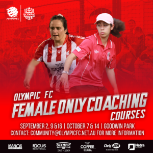Olympic FC Female Only Coaching Courses
