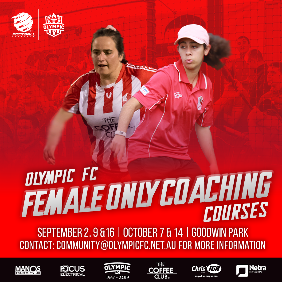 Female Only Coaching Courses
