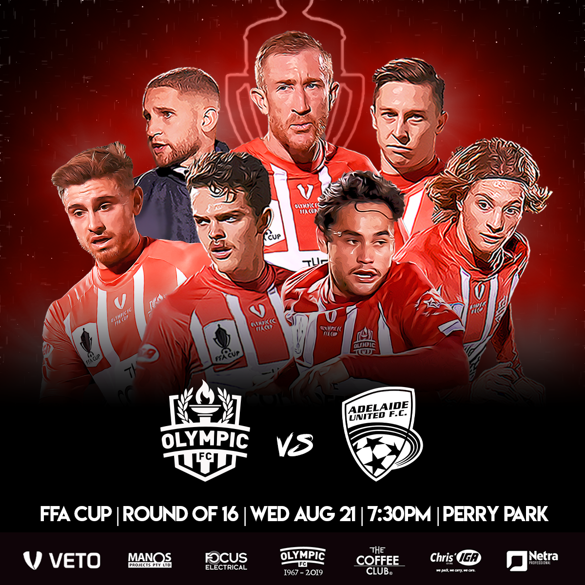 Buy your FFA Cup Round of 16 tickets