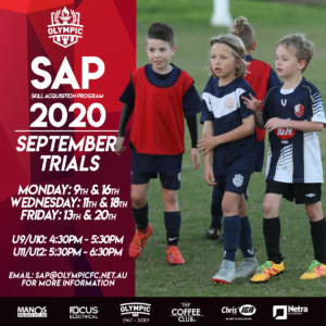 2020 SAP trials have been announced