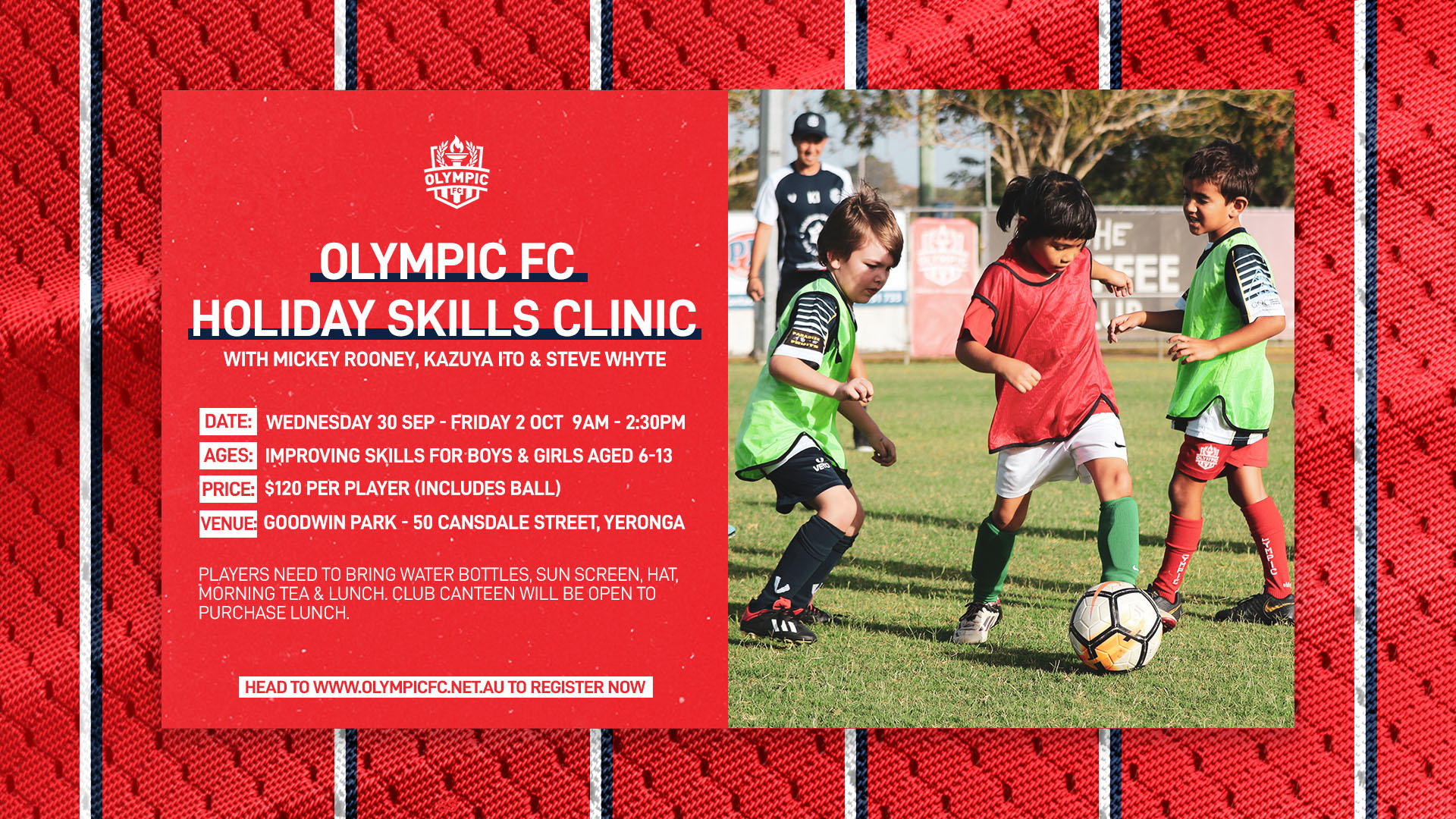 September Holiday Skills Clinic