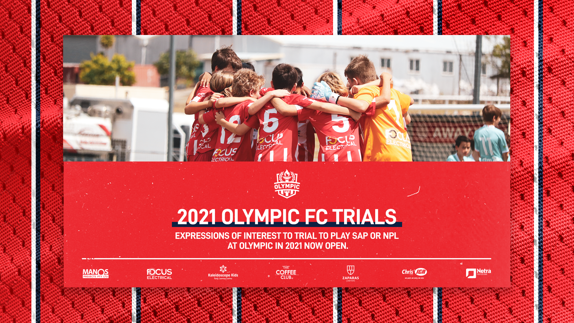 Olympic FC 2021 NPL & SAP Trials