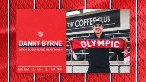 Danny Byrne signs on as NPLW Head Coach