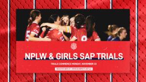 Olympic FC NPLW & Girls SAP Trials