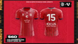 2021 Olympic FC NAIDOC Week Kits